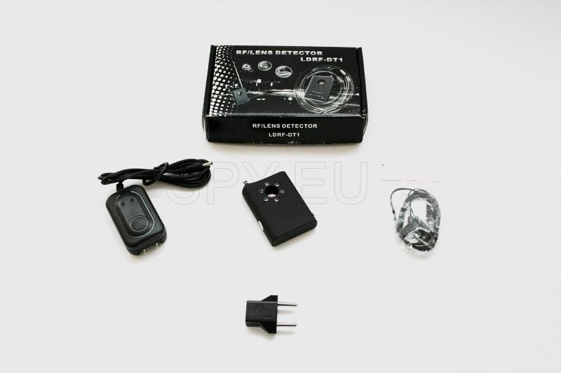Détecteur permettant de détecter des caméras et écoute électronique cachées