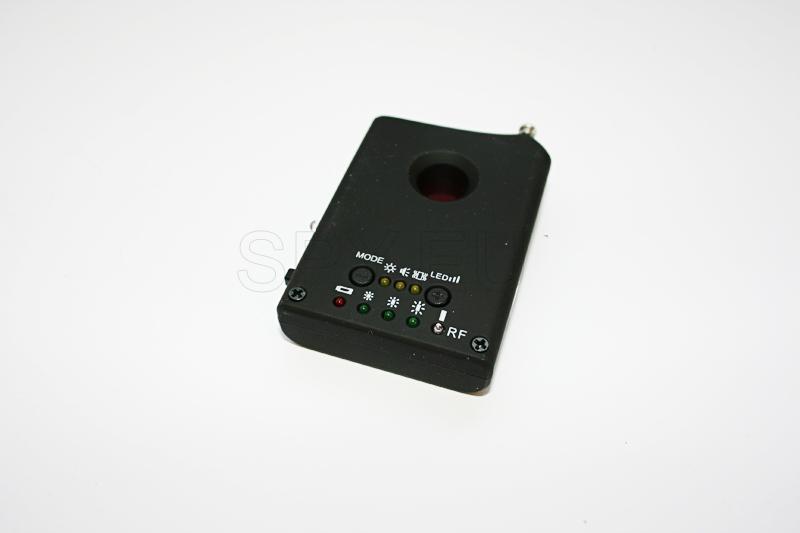 Detektor zur Aufdeckung von versteckten Kameras und Abhörgeräten