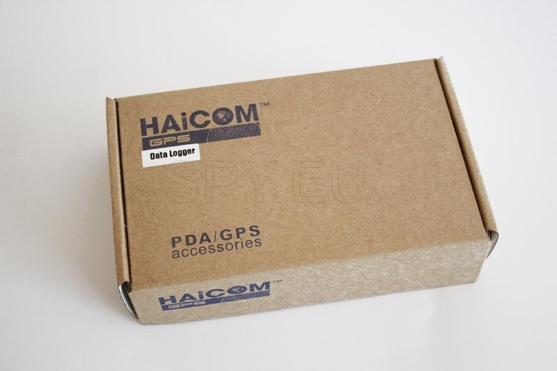 A device for recording data for GPS tracker Haicom HI-602DT