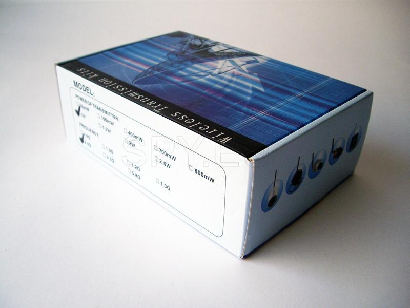 Wireless transmitter 1W