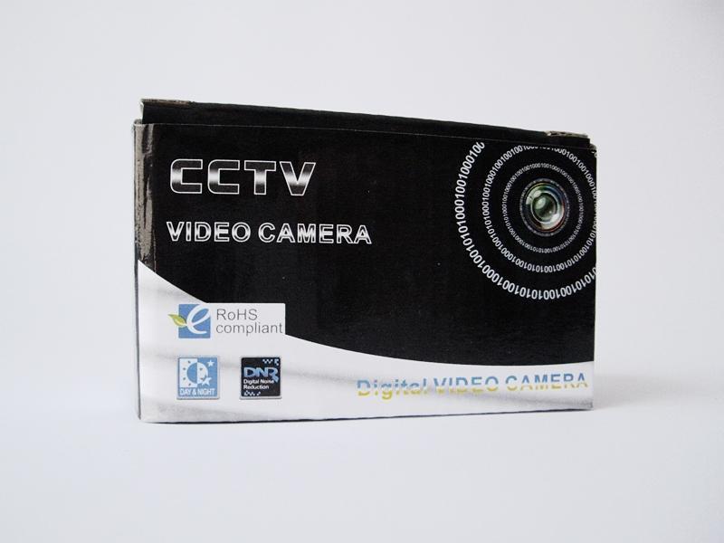 Extremely thin CCTV camera