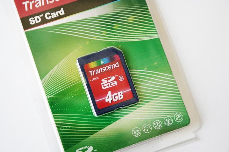 Transcend Memory card SDHC 2 - 4GB