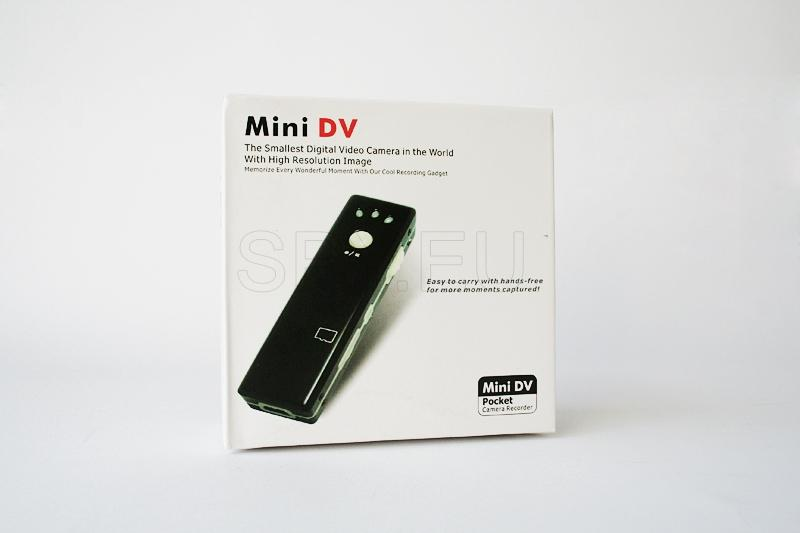 Mini camera and audio recorder 4GB