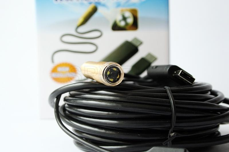 Waterproof endoscope - 10 m