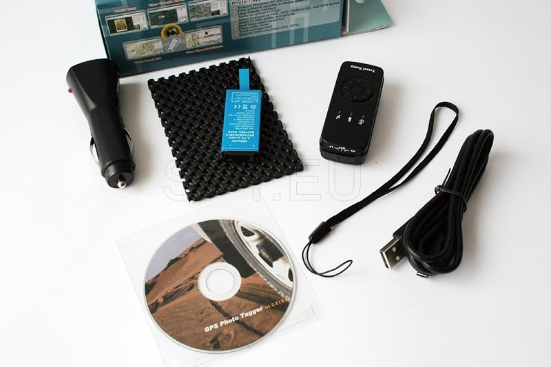 Combined GPS receiver and data logger