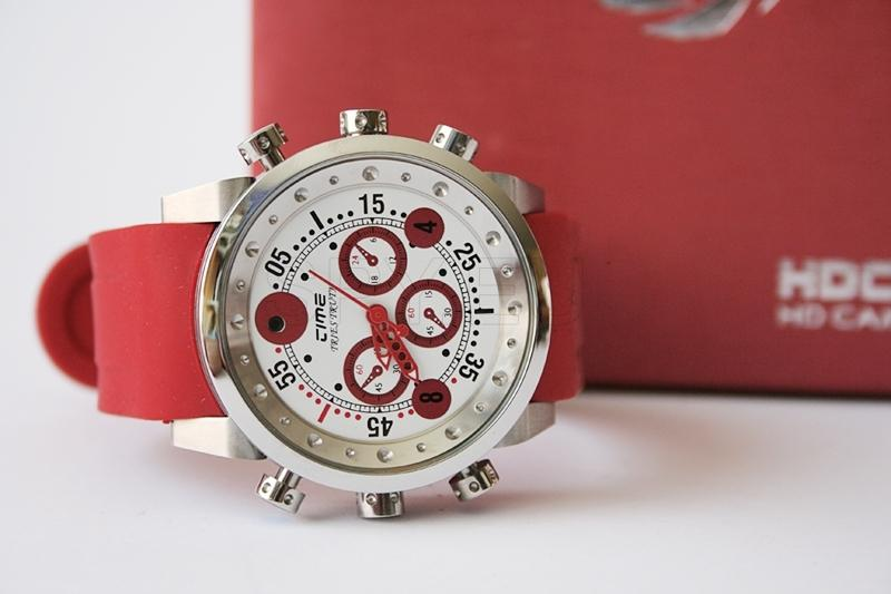 Waterproof watch with MP3 player.