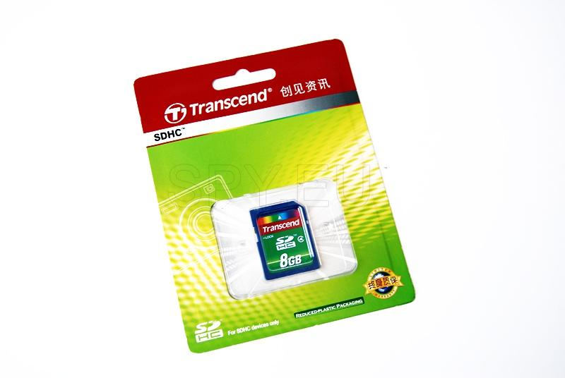 Transcend carte mémoire SDHC 2 - 8GB