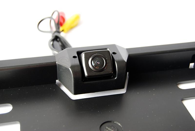 Mini camera in car number plate