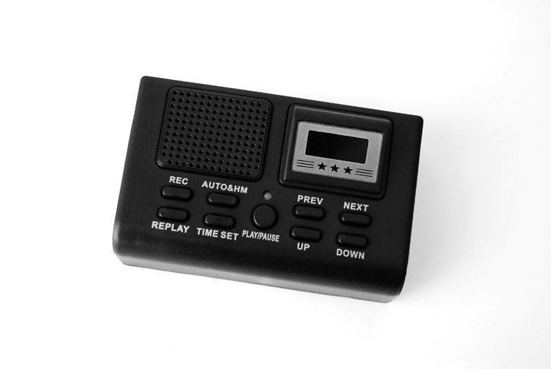 Digital recorder for landline phones