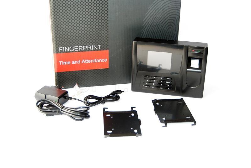 Registration system with fingerprints