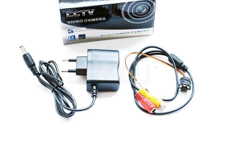 Caméra de vidéosurveillance sans son - MCV6-LED