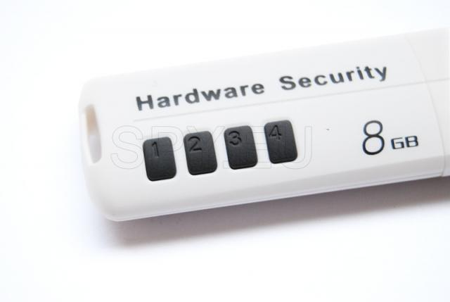 Flash drive with password
