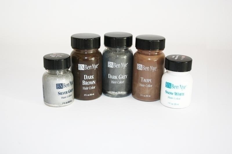 BZK-SG - Ben Nye Hair Colors / Silver Grey-1 fl. oz./29ml