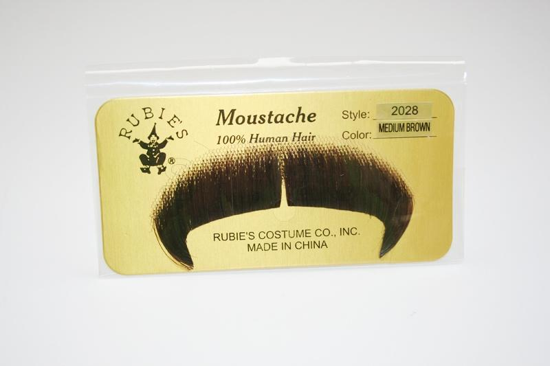 MW-MB - Winchester Moustache- Med. Brown