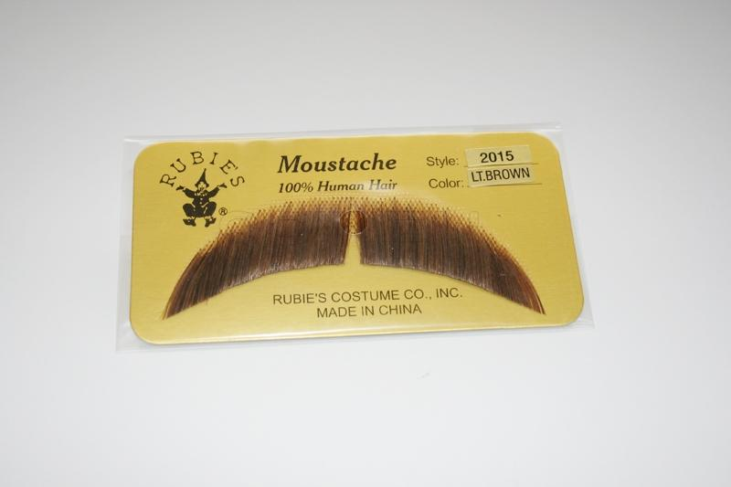 MS-LB - Basic Moustache- Light Brown