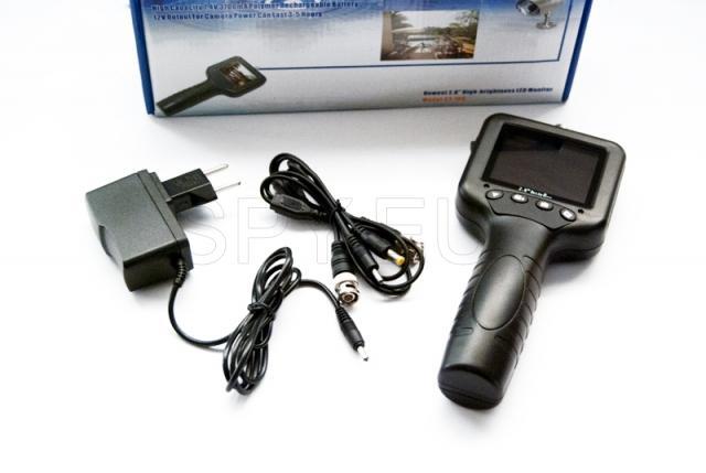 Monitorar câmera de mão