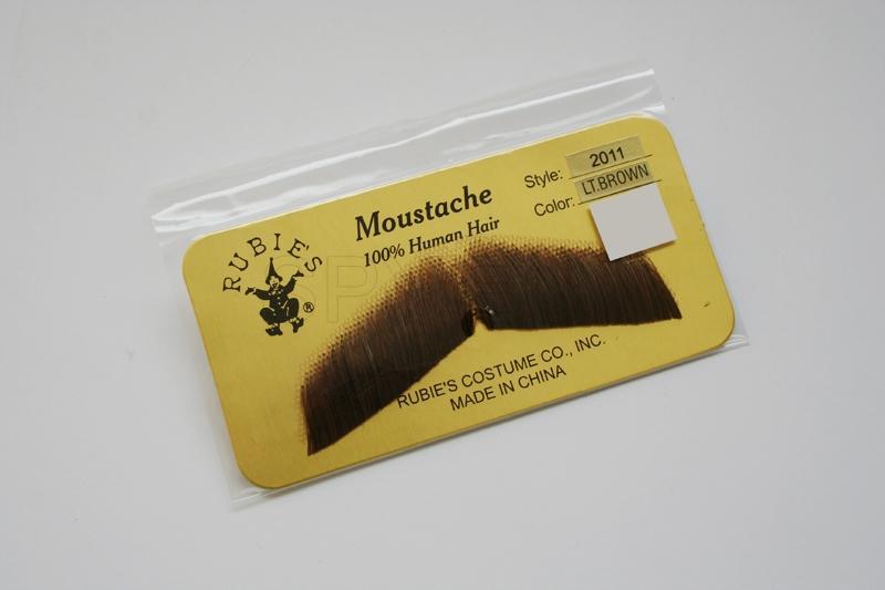 Gentleman's Moustache- Light Brown