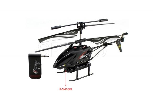 Mini helicopter with camera