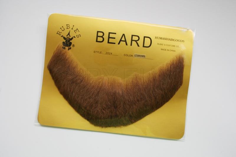 FB-LB - Full, Human Beard (Light Brown)