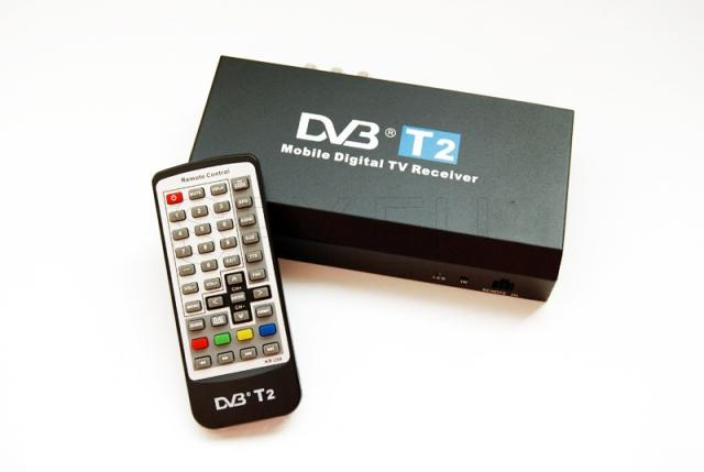 DVB T2 receiver for cars