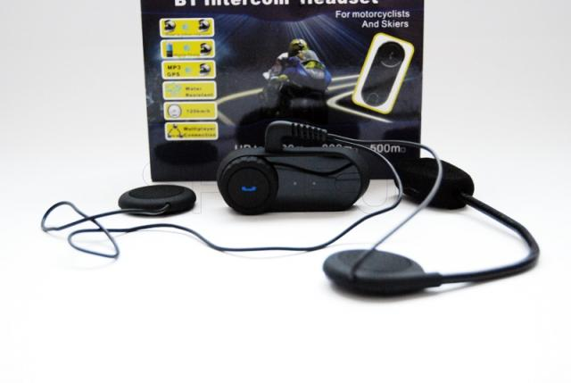 Receptor bluetooth e intercomunicador para casco