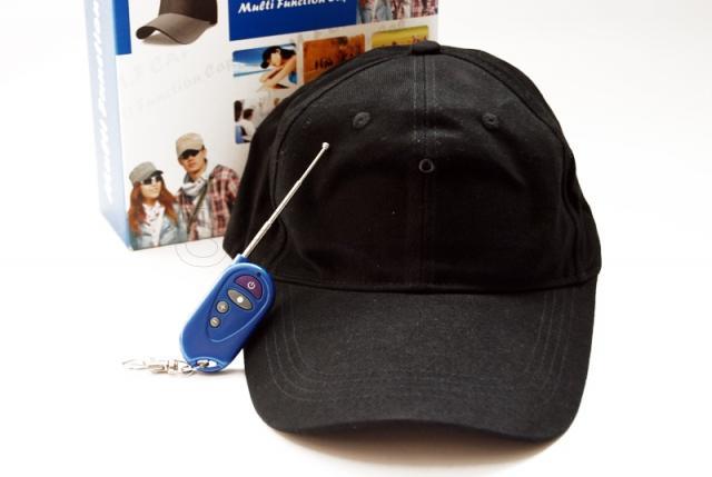 Hidden camera in a hat