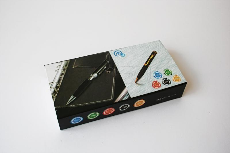 HD12 - Spy camera pen - 4GB
