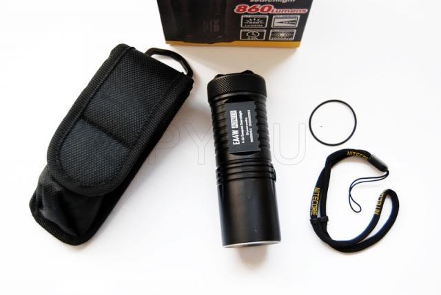 Portable flashlight Nitecore