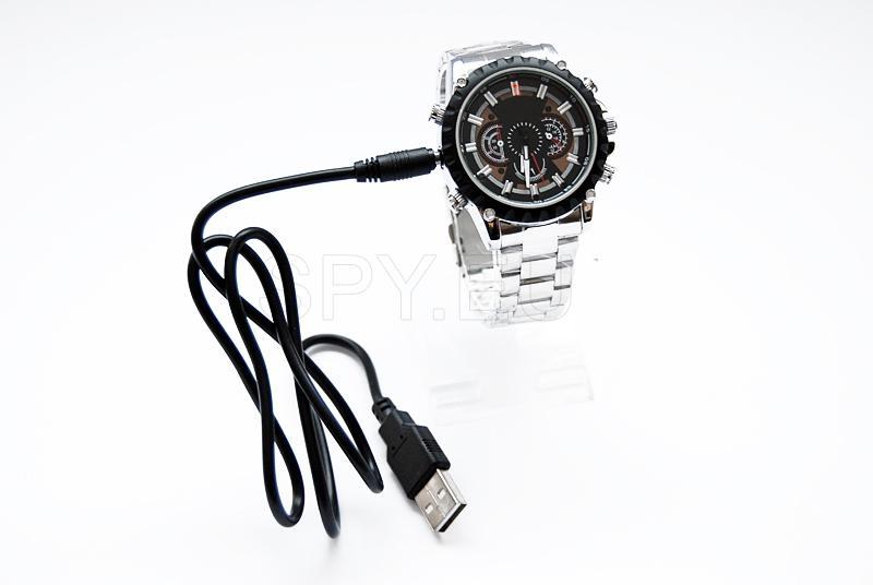 HD camera in a wrist watch