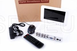8 channel DVR with 7