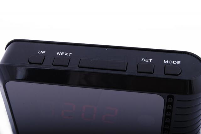 IP camera in desktop clock