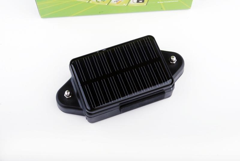 Rastreador GPS con panel solar