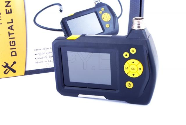 Endoscope with a 2.7 inch monitor