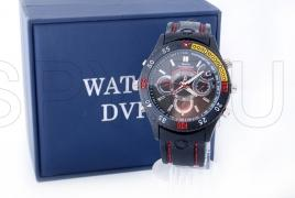 HD camera in waterproof wristwatch