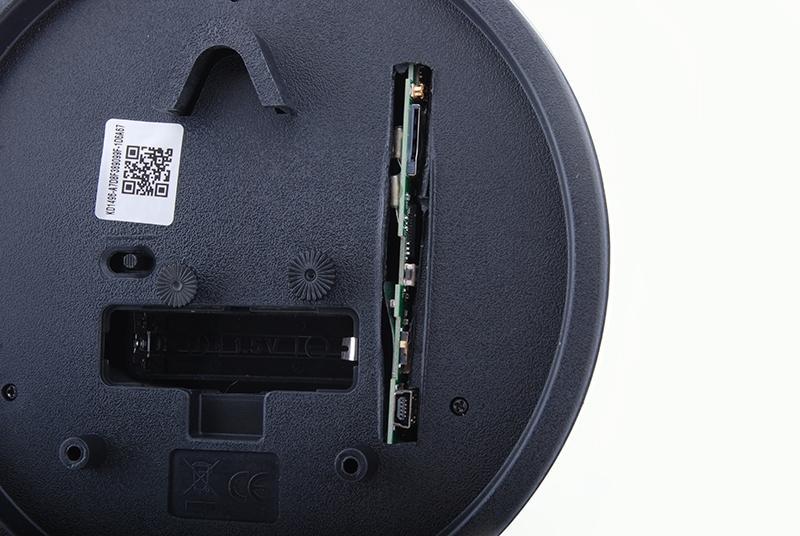 IP camera in alarm clock