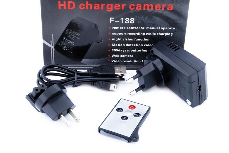 Camera hidden in adaptor