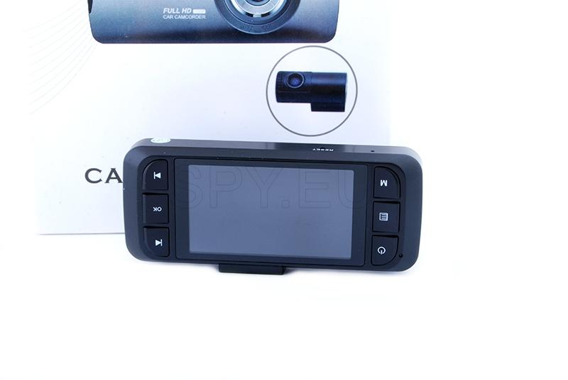 Video register with two cameras