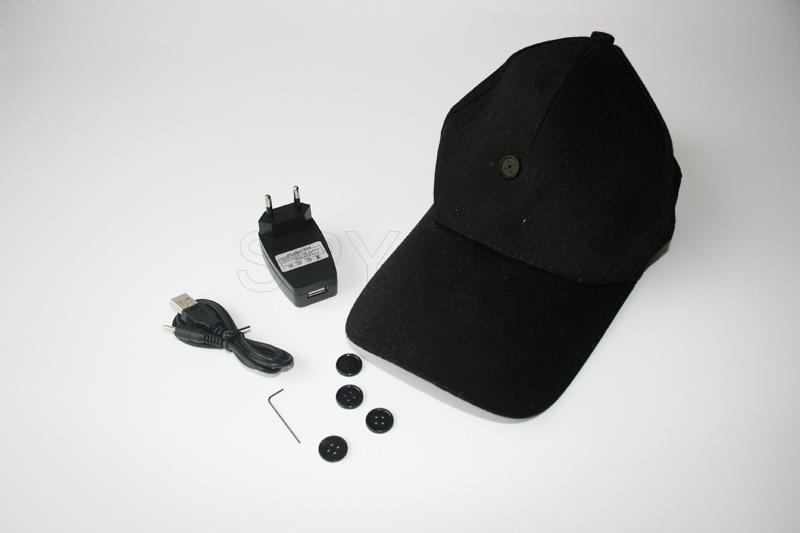 BC09 - 2.4GHz wireless  cap camera