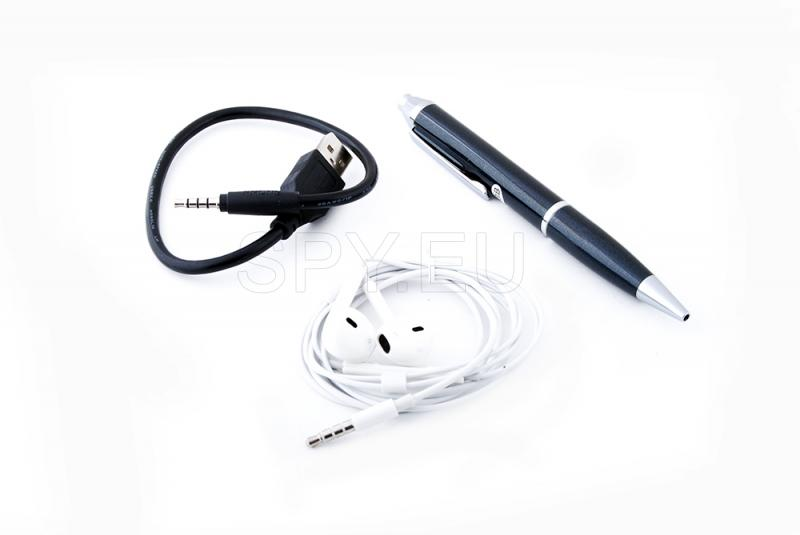 Pen-audio recorder, without voice activation