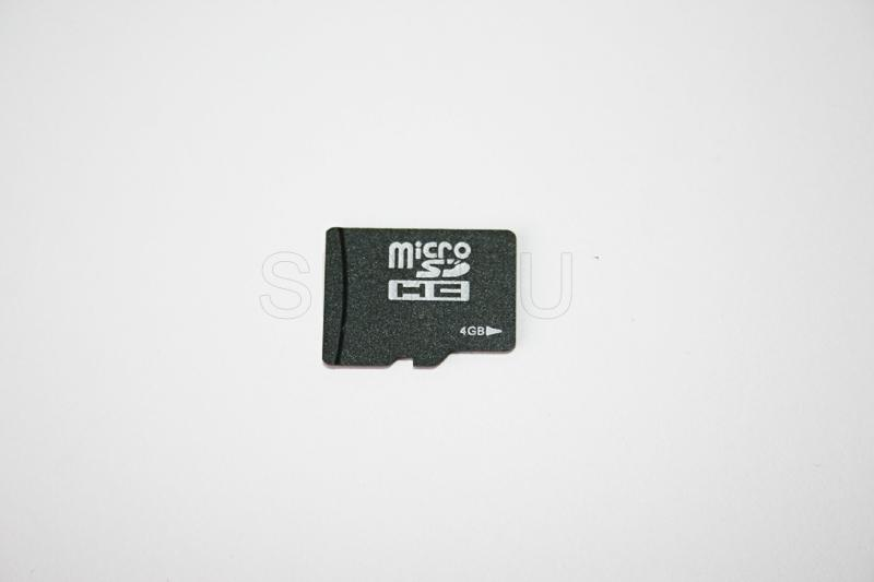 MicroSD carte 4GB