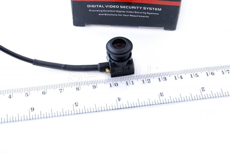 CCTV camera with high resolution and sound