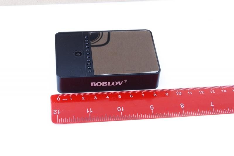 Mini camera with two lenses