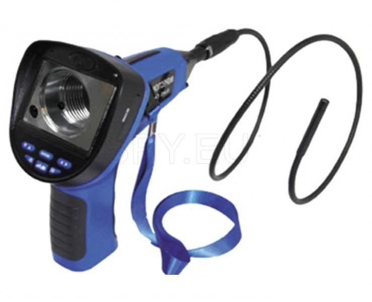 Endoscope 4 metres, with display and recording option