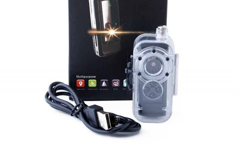 Mini camera with night vision option