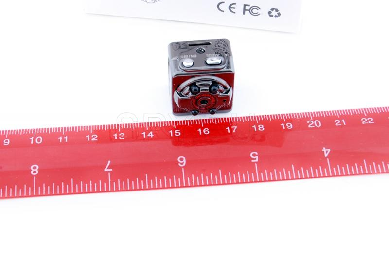 Mini camera with IR diodes