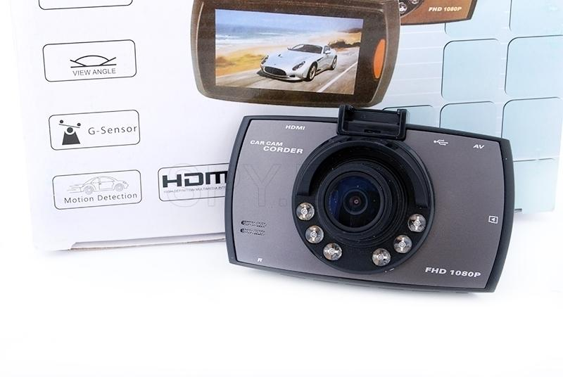 Wide-angle full HD recorder