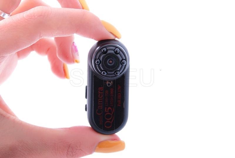Mini cámara con gran ángulo de visión