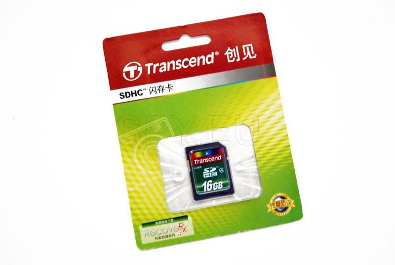 Carte mémoire Transcend - 16 GB