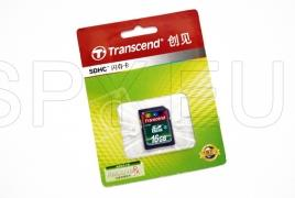 Transcend Memory card - 16GB