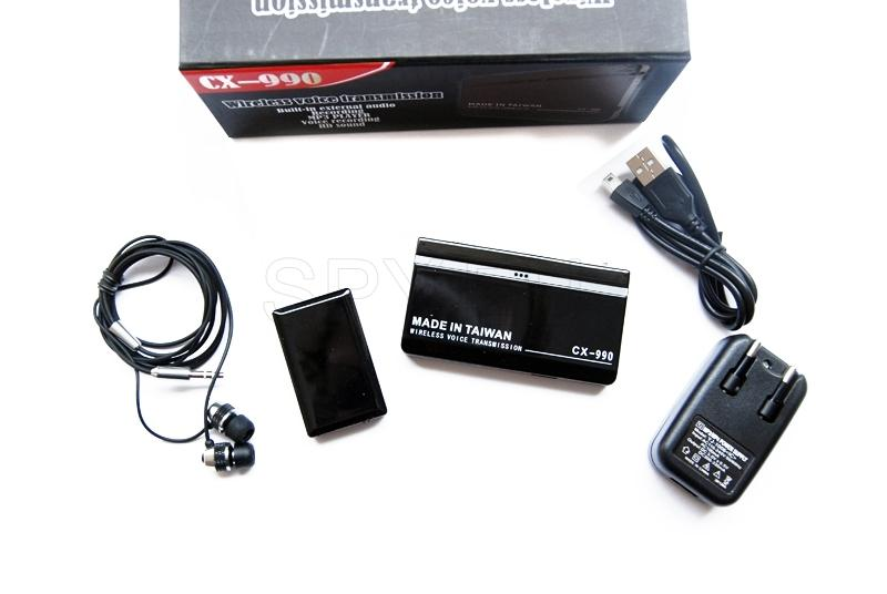 Listening device with MP3 player